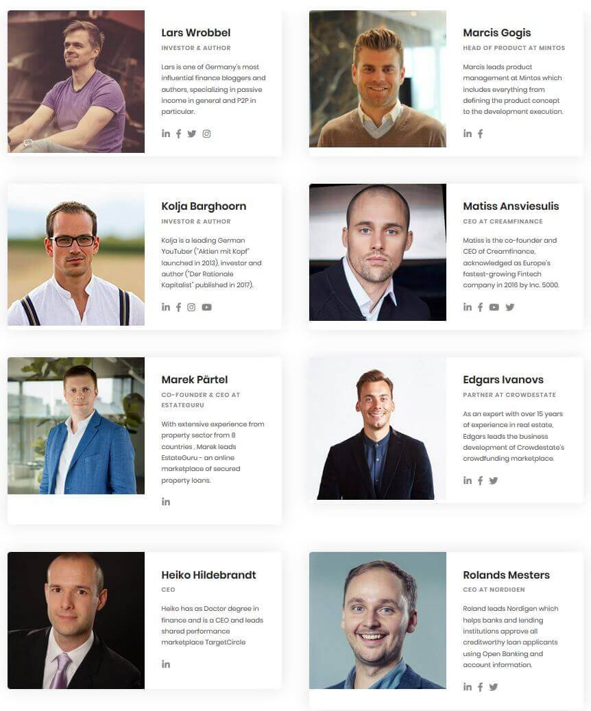 p2p conference line up