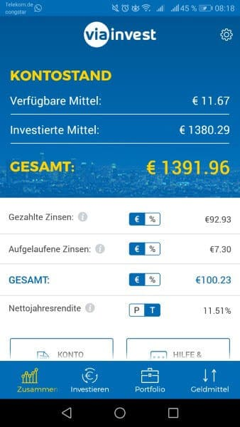 invest 2019 viainvest app