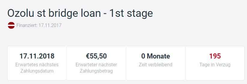 estateguru ozolu st bridge loan - 1st stage