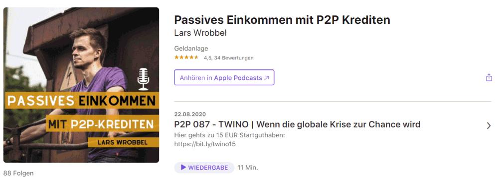 p2p kredite podcast