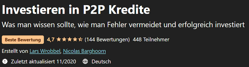 p2p kredite kurs