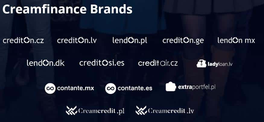 creamfinance brands